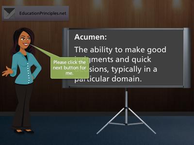 Business Acumen screenshot